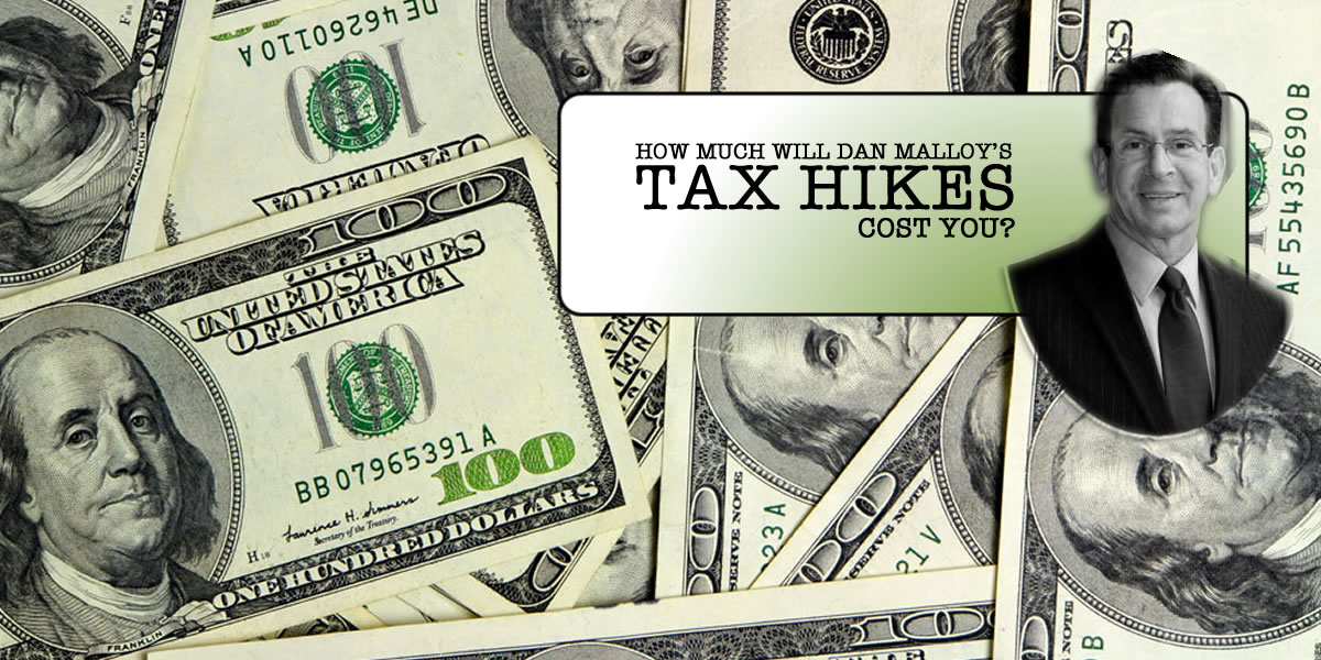 Gov. Malloy's Many Tax Hikes