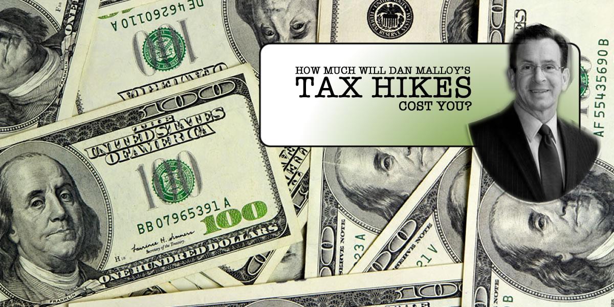 Gov. Malloy's Many Tax Hikes