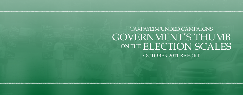 Government's Thumb on the Election Scales