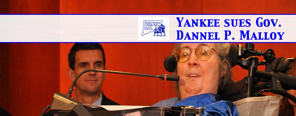 Yankee sues Gov. Dan Malloy